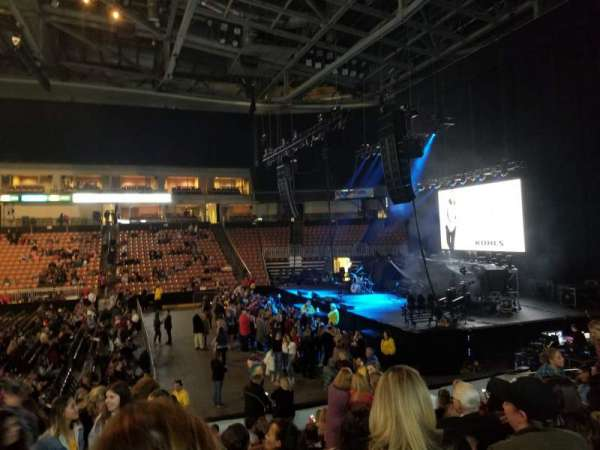 SNHU Arena, section: 119, row: N, seat: 19
