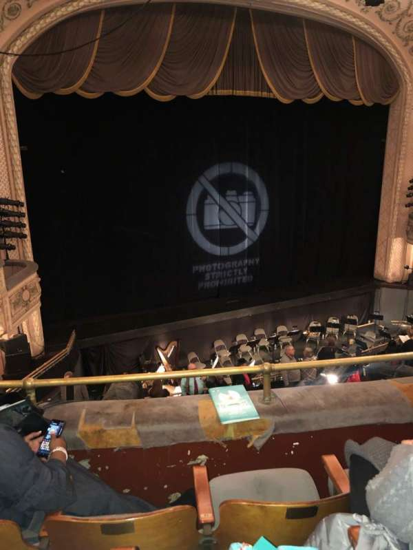 Merriam Theater, section: BL, row: C, seat: 17