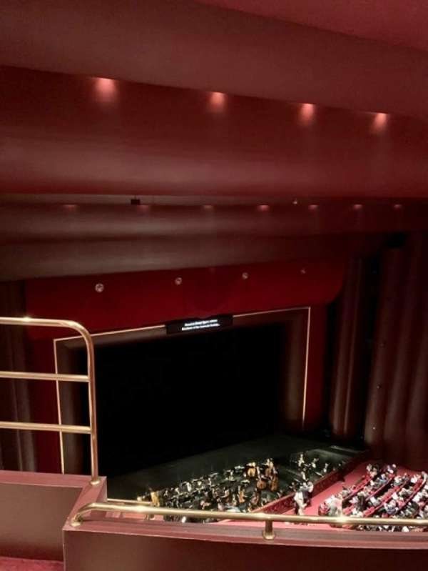 Brown Theater at the Wortham Center, section: K, row: G, seat: 14