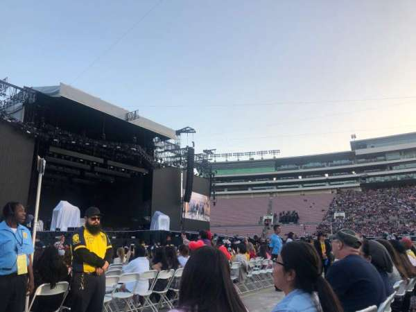Rose Bowl, section: B4, row: 2, seat: 19