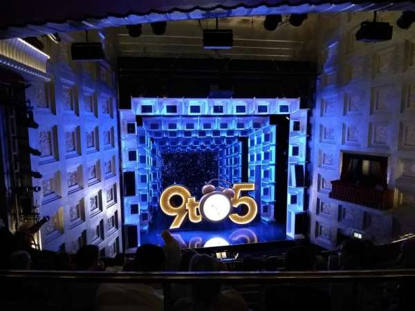 Savoy Theatre, section: Dress Circle, row: G, seat: 19