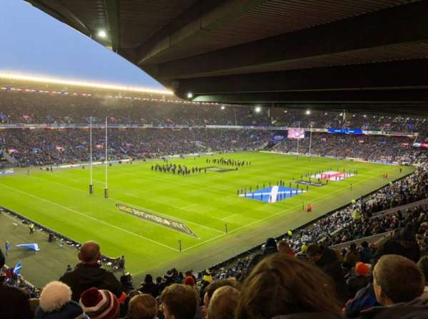 Murrayfield Stadium, section: S2, row: Z, seat: 42