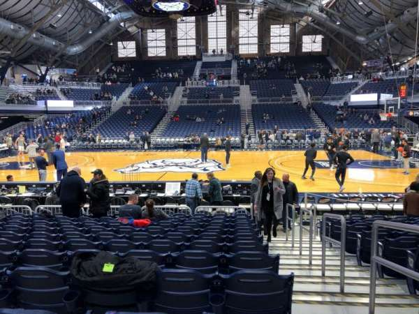 Hinkle Fieldhouse, section: 106, row: 11, seat: 1