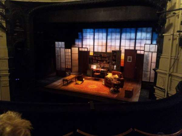 Ambassadors Theatre, section: Circle, row: C, seat: 4