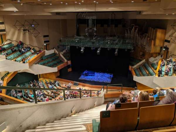 St David's Hall, section: Tier 10, row: H, seat: 12