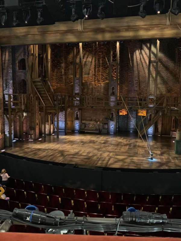 Victoria Palace Theatre, section: royal circle, row: a, seat: 15