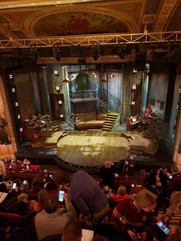 Walter Kerr Theatre, section: Mezzanine C, row: H, seat: 102
