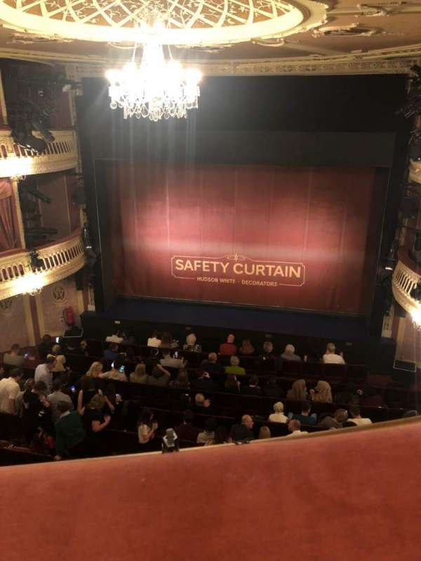 Criterion Theatre, section: Upper Circle, row: A, seat: 15