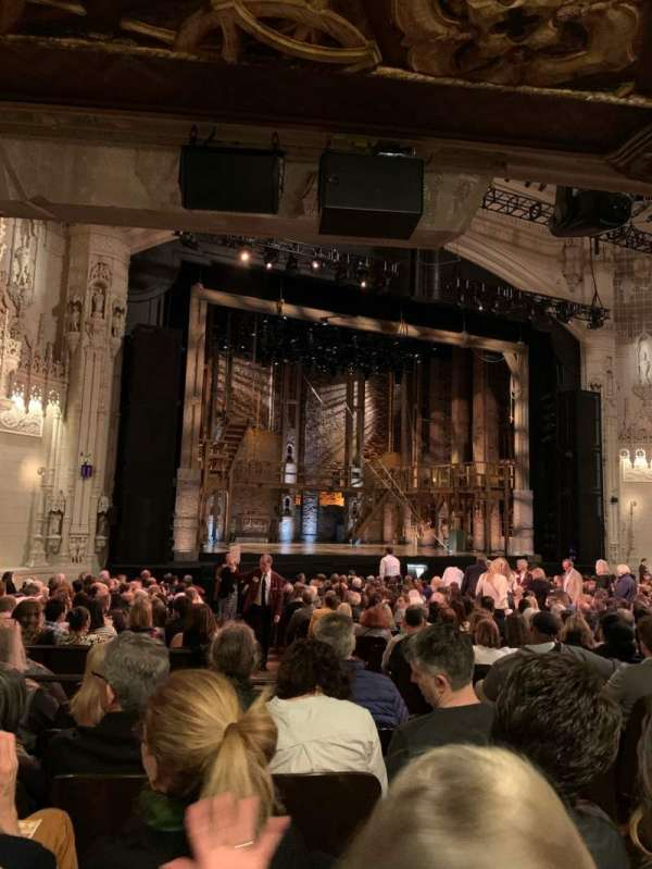 Orpheum Theatre (San Francisco), section: Orchestra L, row: X, seat: 7