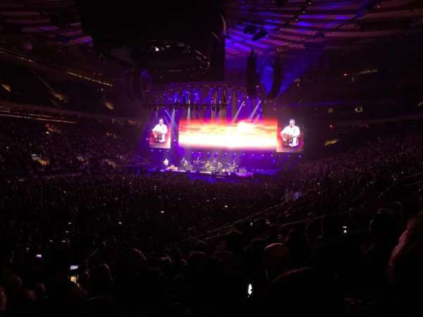 Madison Square Garden, section: 104, row: 10, seat: 10