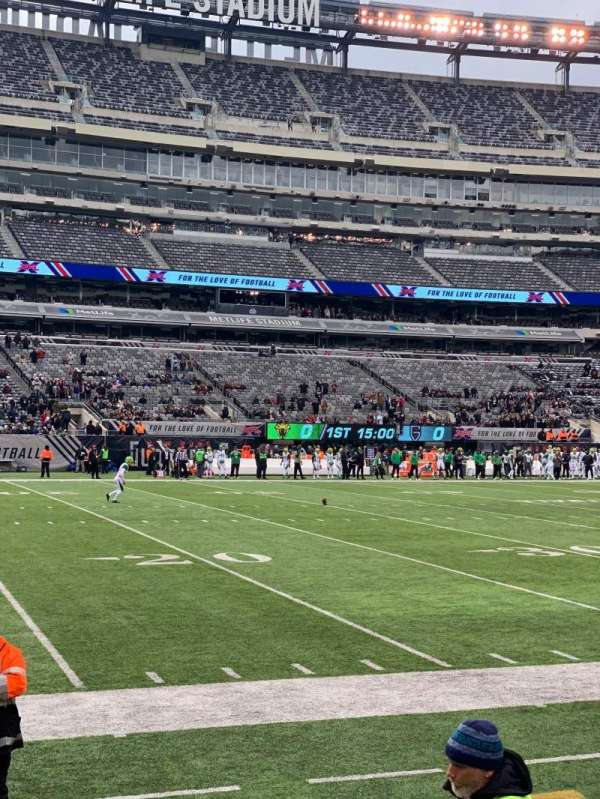 MetLife Stadium, section: 116, row: 5