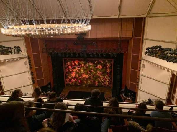 Uihlein Hall, section: Balcony, row: D, seat: 37
