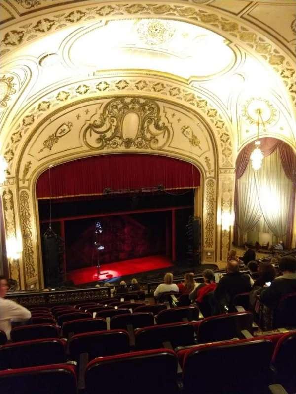 Orpheum Theatre (Omaha), section: Balcony, row: J, seat: 7