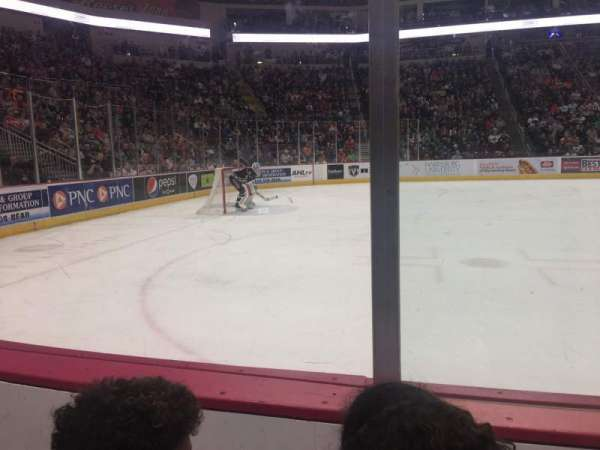 Giant Center, section: 118, row: B, seat: 10