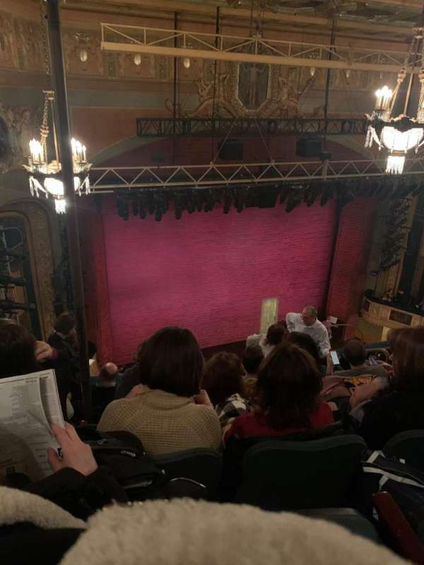 Shubert Theatre, section: Balcony L, row: G, seat: 13