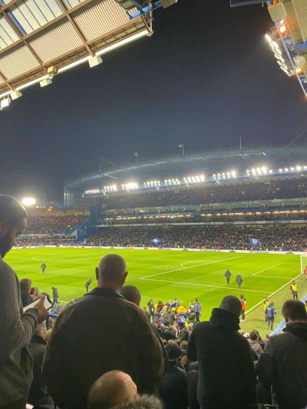 Stamford Bridge, section: Matthew Harding Lower 16, row: Y, seat: 200