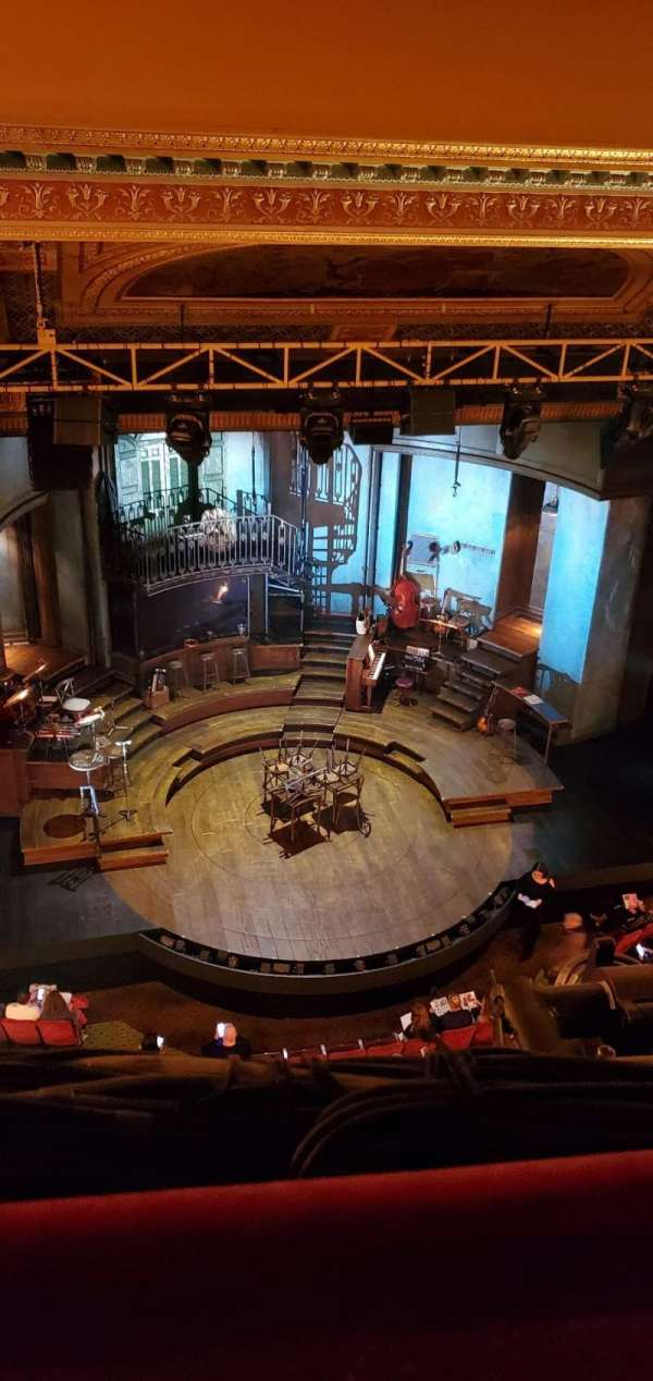 Walter Kerr Theatre, section: Balcony L, row: A, seat: 13