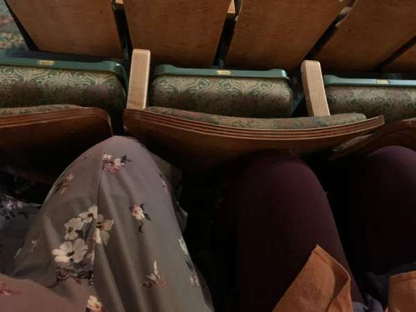 New Amsterdam Theatre, section: Mezzanine C, row: FF, seat: 116