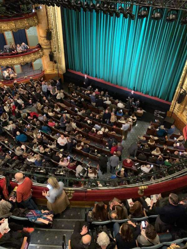 Emerson Colonial Theatre, section: Balcony R, row: A, seat: 10