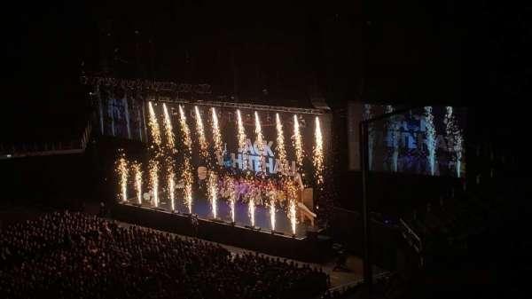 The O2 Arena, section: 419, row: B