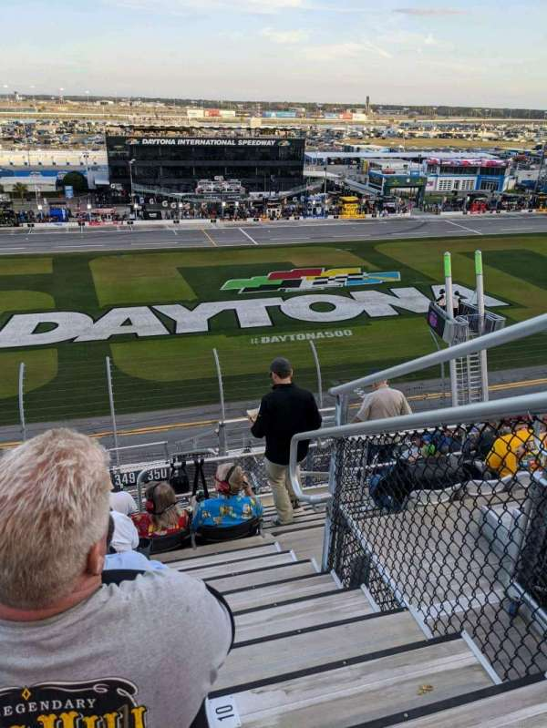 Daytona International Speedway, section: 350, row: 11, seat: 5