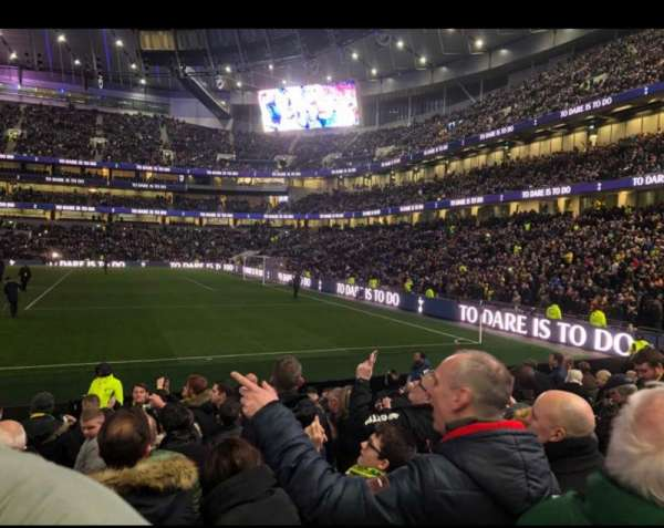 Tottenham Hotspur Stadium, section: 118, row: 11
