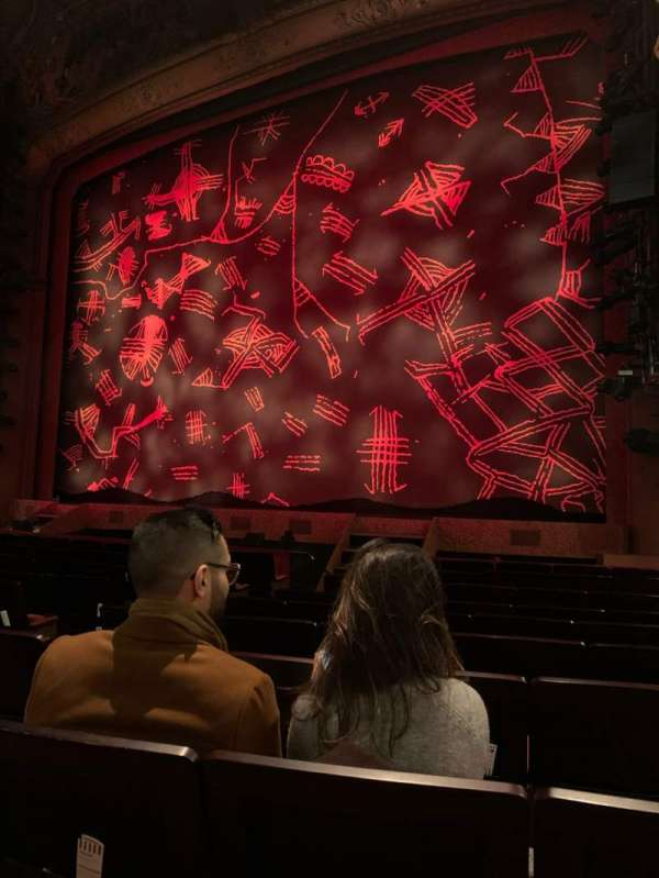 Lyceum Theatre (West End), section: Stalls, row: K, seat: 12