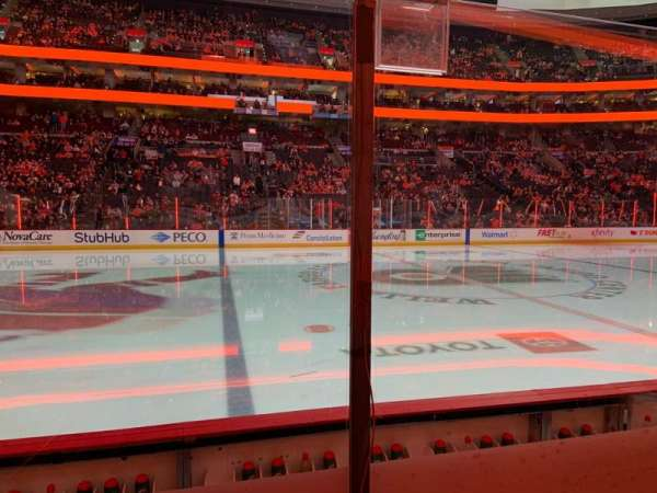 Wells Fargo Center, section: 124, row: 4, seat: 13