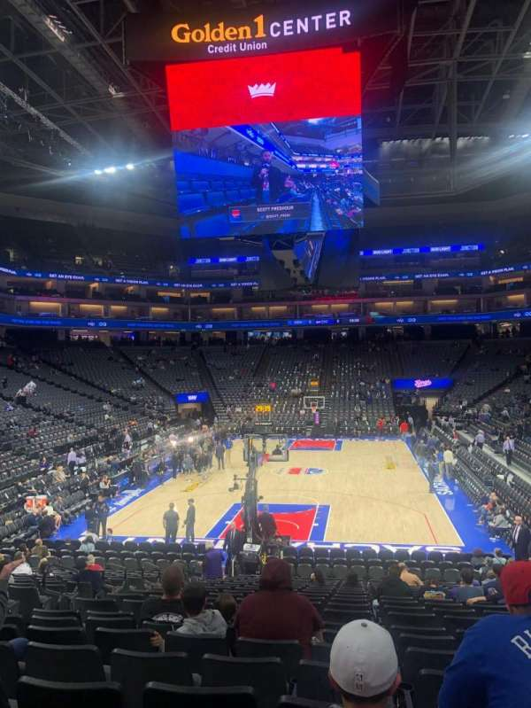 Golden 1 Center, section: 126, row: L, seat: 7