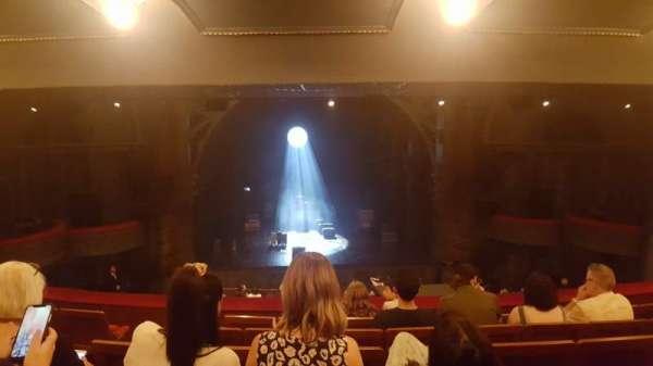 Princess Theatre (Melbourne), section: Dress Circle, row: F, seat: 18