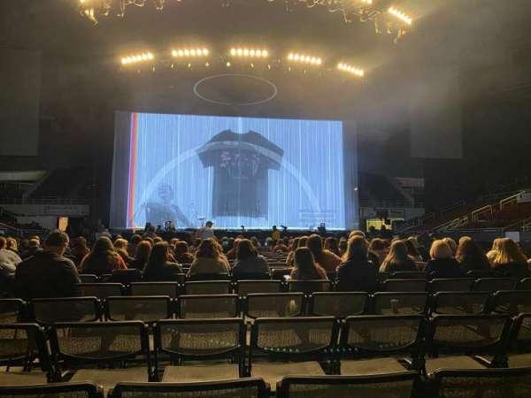 Bojangles' Coliseum, section: Floor Center, row: T, seat: 9