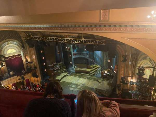 Walter Kerr Theatre, section: Balcony R, row: B, seat: 26