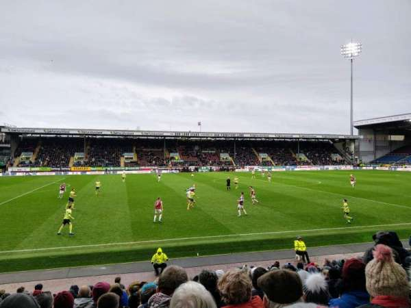 Turf Moor, section: James Hargreaves lower, row: S, seat: 164