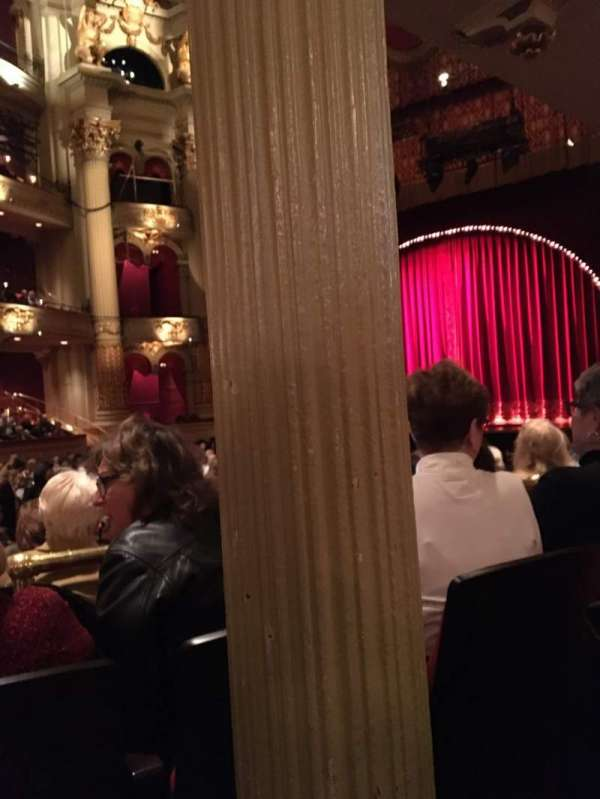 Academy of Music, section: Parquet Center, row: U, seat: 22