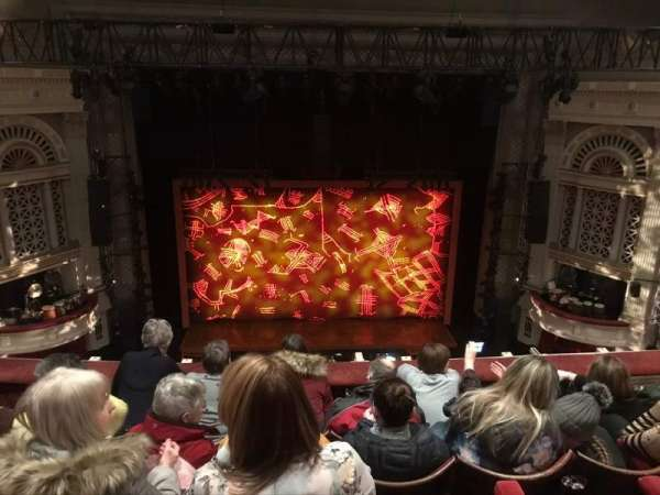 Edinburgh Playhouse, section: Balcony, row: E, seat: 30