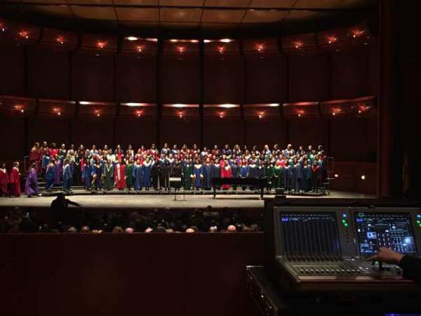 Prudential Hall at the New Jersey Performing Arts Center, section: Grand Tier C, row: B, seat: 108