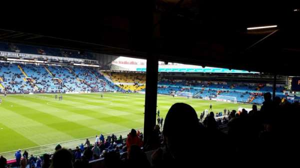 Elland Road, section: D12, row: N, seat: 0230