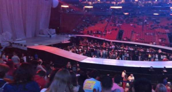 American Airlines Arena, section: 119, row: 19, seat: 6
