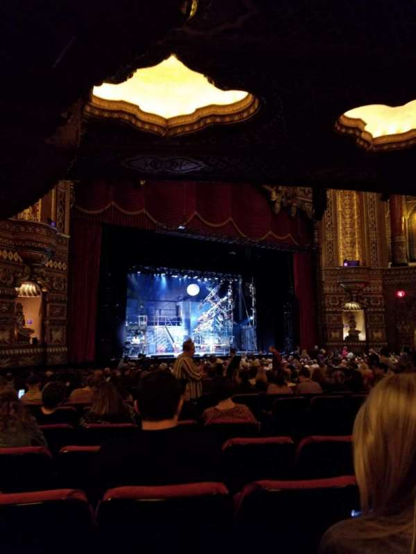 The Fabulous Fox Theatre (St. Louis), section: Orchestra 1, row: AA, seat: 137