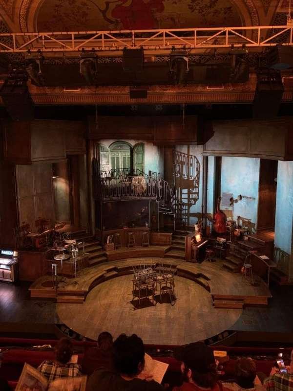 Walter Kerr Theatre, section: Mezzanine C, row: F, seat: 104