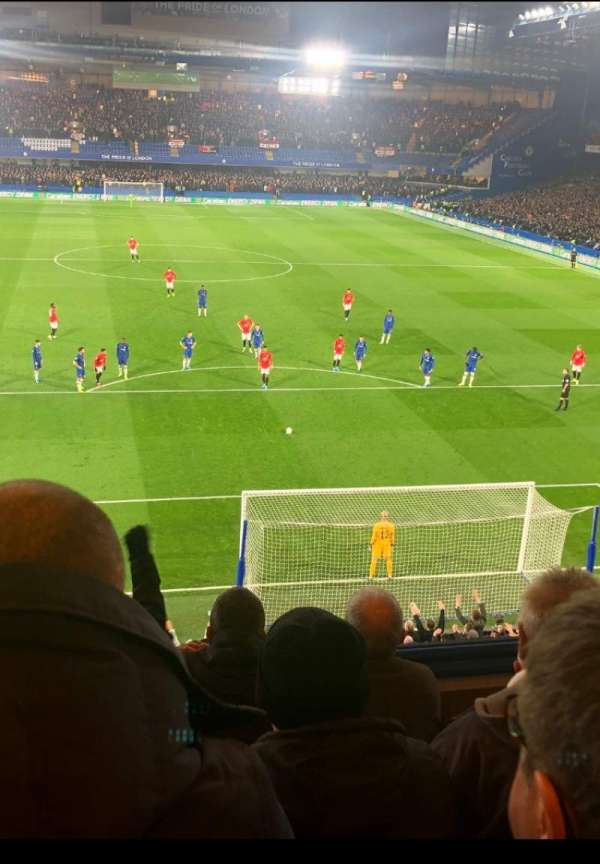 Stamford Bridge, section: Matthew Harding Upper, row: D