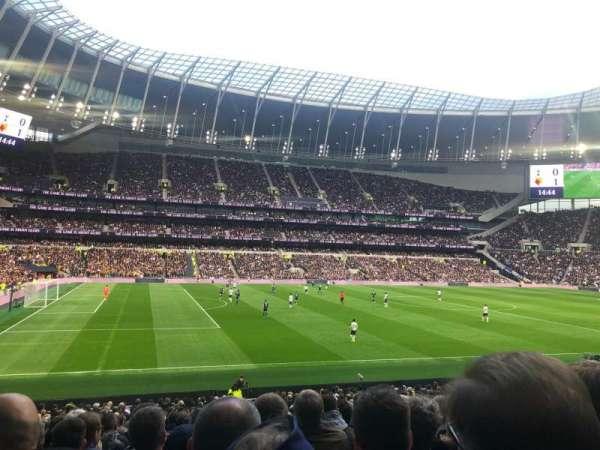 Tottenham Hotspur Stadium, section: 108, row: 27, seat: 210