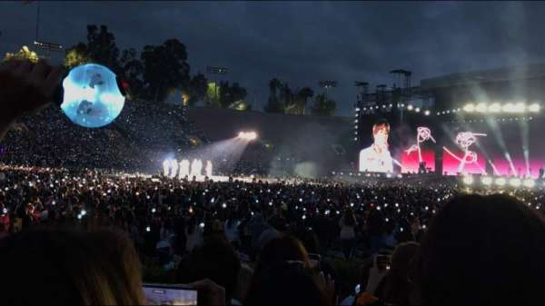 Rose Bowl, section: 16-H, row: 3, seat: 109