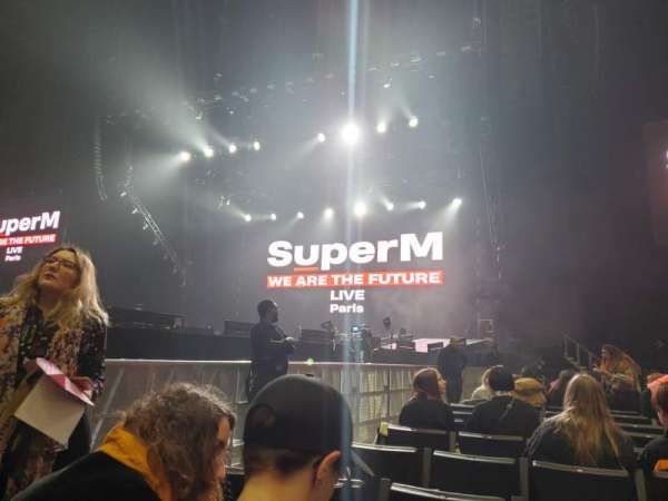 AccorHotels Arena, section: Y, row: 18, seat: 13