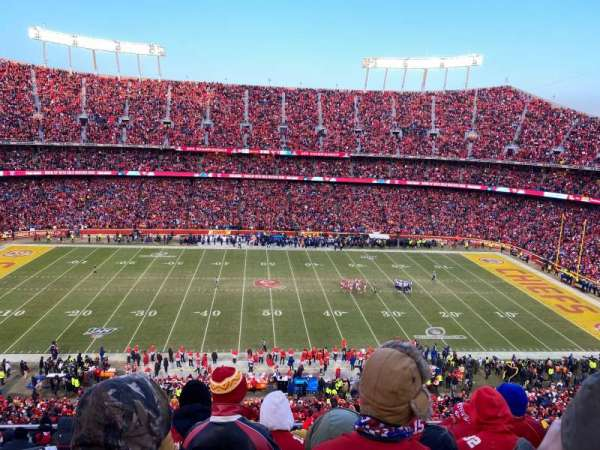 Arrowhead Stadium, section: 324, row: 12, seat: 2