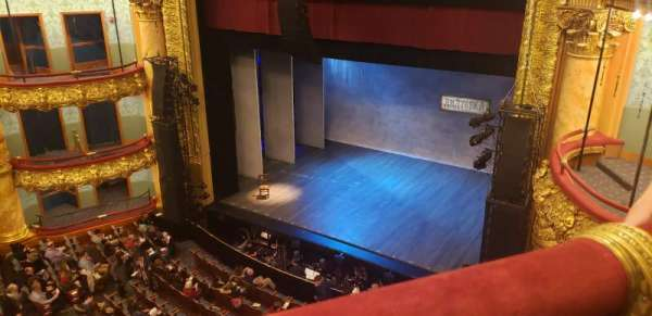 Emerson Colonial Theatre, section: Balcony R, row: A, seat: 18