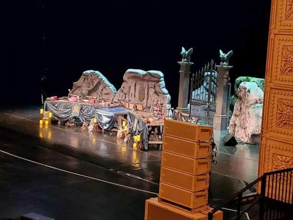 Auditorium Theatre, section: LBOX-R1, row: 1, seat: 1