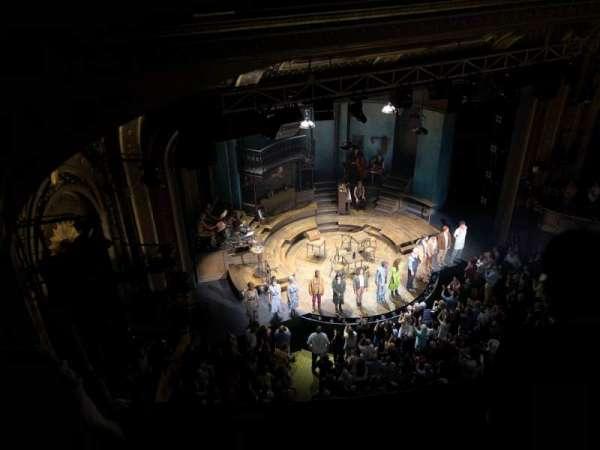 Walter Kerr Theatre, section: Balcony L, row: B