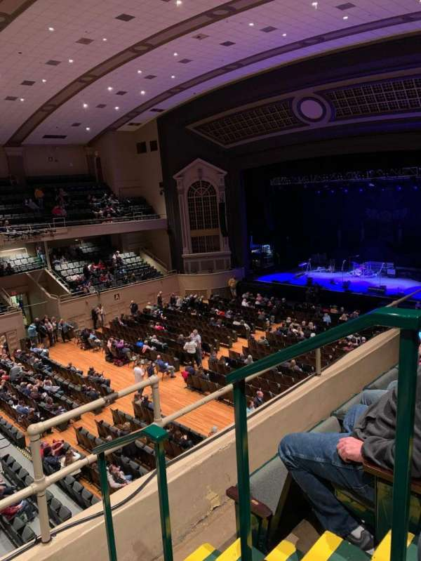 Township Auditorium, section: I, row: C, seat: 13