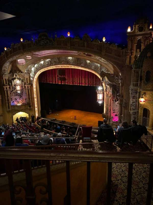 Coronado Theatre, section: Ub, row: 1, seat: 4